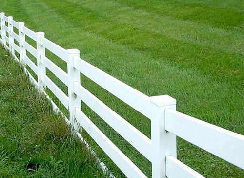 farm ranch horse fence