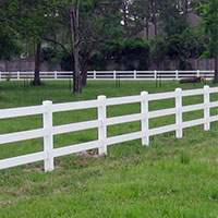 Vinyl Farm & Ranch Fence