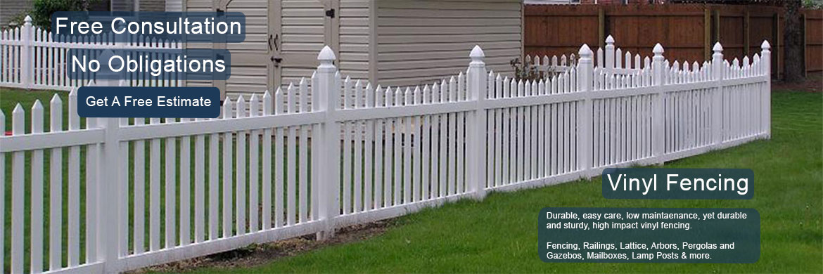 Vinyl Picket Fence Rapid City South Dakota