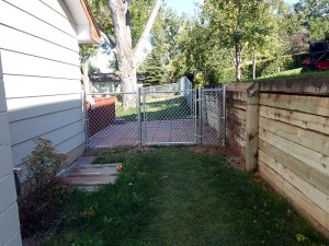 Chain Link Fence, Sturgis, SD