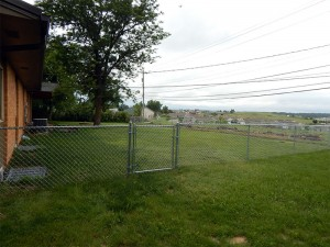 Chain Link Fence, Belle Fourche, SD