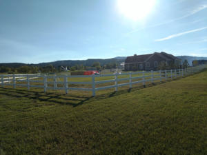 farm ranch vinyl fence