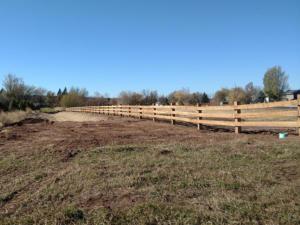 wood farm ranch rail fence