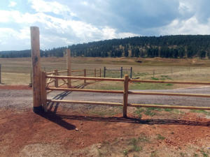 wood farm ranch rail fence