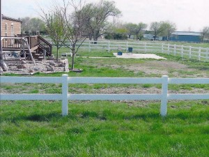 Farm and Ranch Horse and livestock Fence