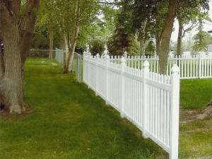 Vinyl Picket Fence