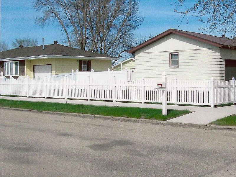 Vinyl Picket Fence Midwest Fence Deadwood Sd