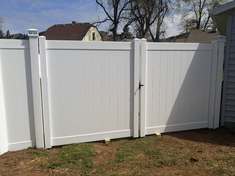 Vinyl Privacy Fence Midwest Fence Deadwood Sd